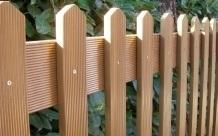 Steccato Giardino Plastica : Recinzioni staccionate in plastica riciclata