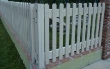 Steccato Da Giardino In Pvc : Installare recinzioni nel giardino obi